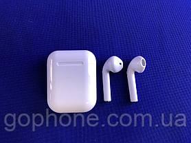 Bluetooth наушники HBQ I9S-Plus TWS V5,0 с кейсом и чехлом White, фото 3