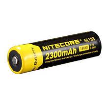 Літієвий акумулятор 18650 Li-Ion Nitecore NL183 (2300mAh)