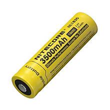 Літієвий акумулятор 18650, Nitecore NL1835 (3500mAh), захищений