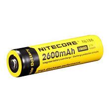 Літієвий акумулятор 18650 Li-Ion Nitecore NL186 (2600mAh)