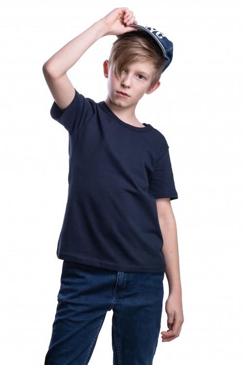 Детские футболки однотонные унисекс в розницу