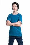 Детские футболки однотонные унисекс в розницу, фото 6