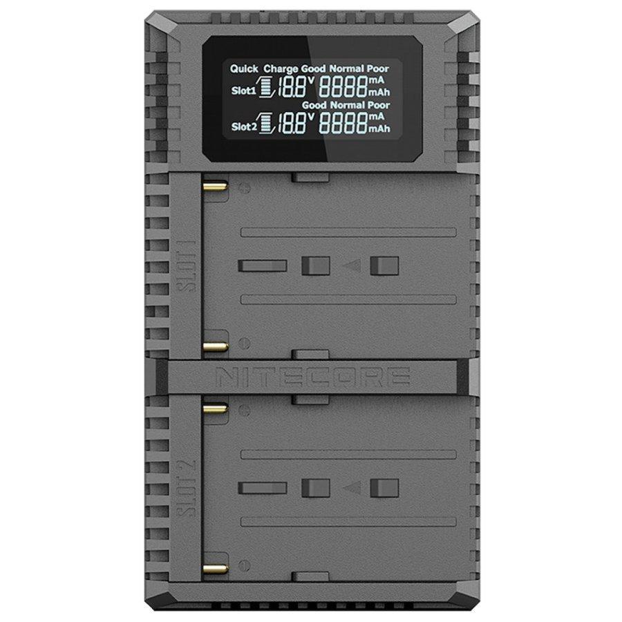 Зарядний пристрій Nitecore USN3 PRO Sony