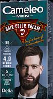 Фарба для чоловіків Delia cosmetics Cameleo Men 4.0 Коричневий 30 мл