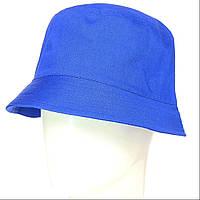 Панама для взрослых  синяя