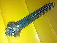 "Блок тэн нержавейка 15.0 кВт / 2""дюйма резьба / 220 В. / 390 мм. длина Турция SANAL"