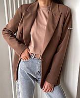 """Пиджак женский классический удлиненный, размеры S-L(2цв) """"IRINA"""" купить недорого от прямого поставщика"""
