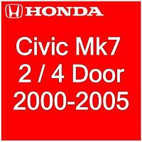 Honda Civic Mk7 2Dr Coupe, 4Dr Sedan 2000-2005