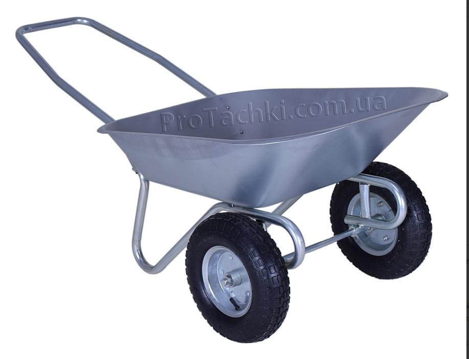 Тачка садова двоколісна 65л/100 кг