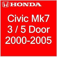 Honda Civic Mk7 3 / 5 Dr Hatchback 2000-2005
