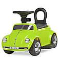 *Электромобиль (каталка - толокар) с родительской ручкой Volkswagen Beetle арт. 618-5, фото 8