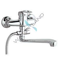 Смеситель (кран) для ванны ZEGOR NHK6-С однорычажный класса стандарт