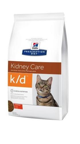 Корм Хіллс PD Feline K/D при захв-ні нирок, нирк. недостатності, серцевій нед-сті, сечокам'яній хворобі,0,4 кг