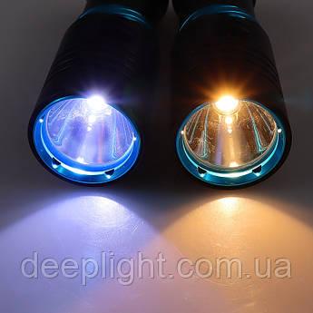 Подводный фонарь Compact на Cree XM-L T6 10W под 26650/18650 с белым светом