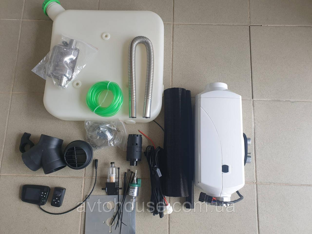 Автономка воздушная  5000W 12v .аналог Webasto, Eberspacher.Автономный воздушный отопитель
