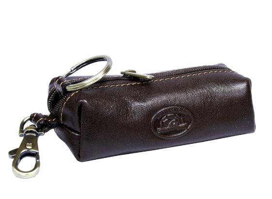 Ключница Tony Perotti кожаная Italico 109 moro коричневый