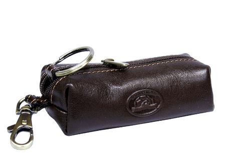 Ключница Tony Perotti кожаная Italico 109 moro коричневый, фото 2