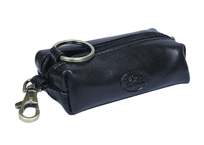 Ключница Tony Perotti кожаная Italico 109 nero черный, фото 2