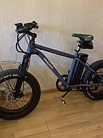 Новый Электровелосипед электро фэтбайк на 20 колесах Hummer электро байк