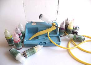 Набор детский для аэрографии ST-10A с красками
