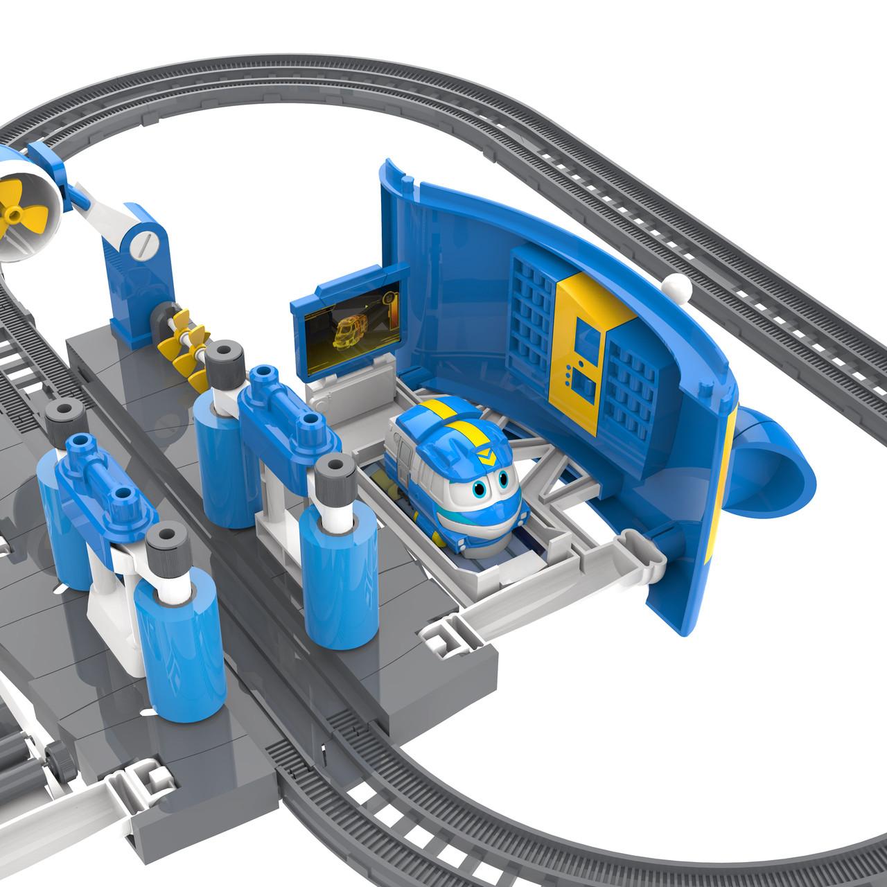 Robot trains игрушки -Игровой набор Robot Trains - Мойка Кея, звук