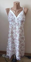 Ночная рубашка 100% хлопок  на  брительках  FAZO-R размер 48-50