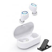 Беспроводные наушники блютуз гарнитура Bluetooth наушники 5.0 Wi-pods TW60 Pro. Белые