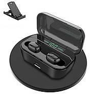 Беспроводные наушники блютуз гарнитура с зарядным кейсом и дисплеем Wi-pods G6S Bluetooth 5.0 Оригинал