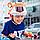 Шлем детский с дизайном тигра CIGNA(оранжевый), фото 6