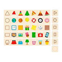 Набор для обучения и НУШ Viga Toys Изучаем формы (44506)