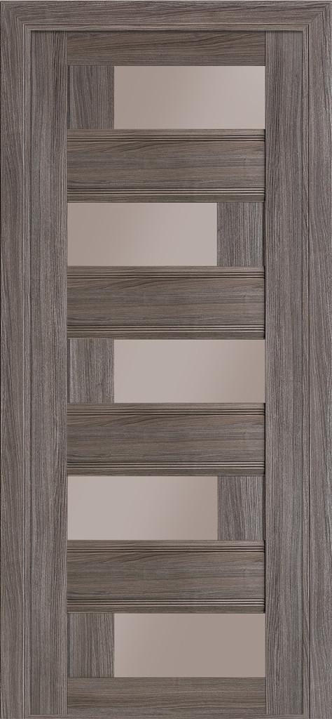 Дверь межкомнатная Terminus Модель Рим цвет Грей (застекленная)