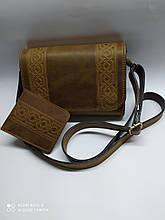 Жіноча шкіряна сумочка