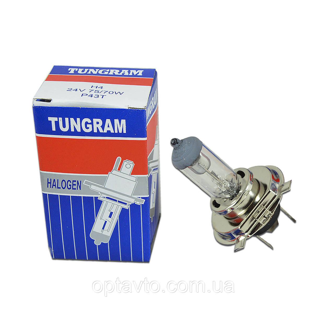 Грузовик H4 24V 75/70W  P43t Лампа TUNGRAM Strong Ligt