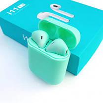 Беспроводные наушники i11 Bluetooth Сенсорные, долго держит заряд, фото 2