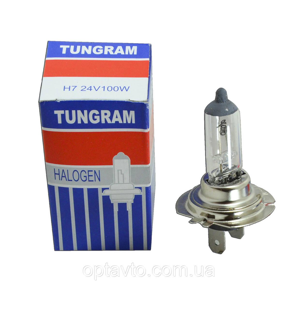 Грузовик H7 24V 100W Лампа TUNGRAM Strong Ligt
