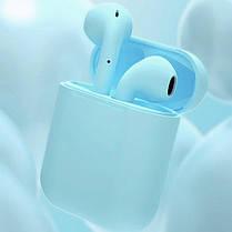 Bluetooth Наушники AirPods беспроводные i11 с микрофоном и сенсорным управлением для iPhone, без проводов, фото 3