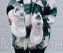 Женские кроссовки Naked Wolfe Track White Накед Вульф белые, фото 2