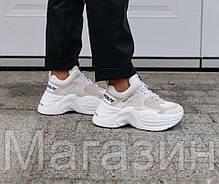 Женские кроссовки Naked Wolfe Track White Накед Вульф белые, фото 3