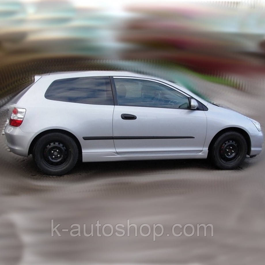 Молдинги на двері для Honda Civic Mk7 3Dr Hatchback 2000-2005