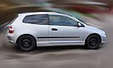 Молдинги на двері для Honda Civic Mk7 3Dr Hatchback 2000-2005, фото 2