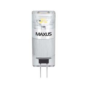 LED лампа Maxus G4 1W(100lm) 5000K 12V G4 CR
