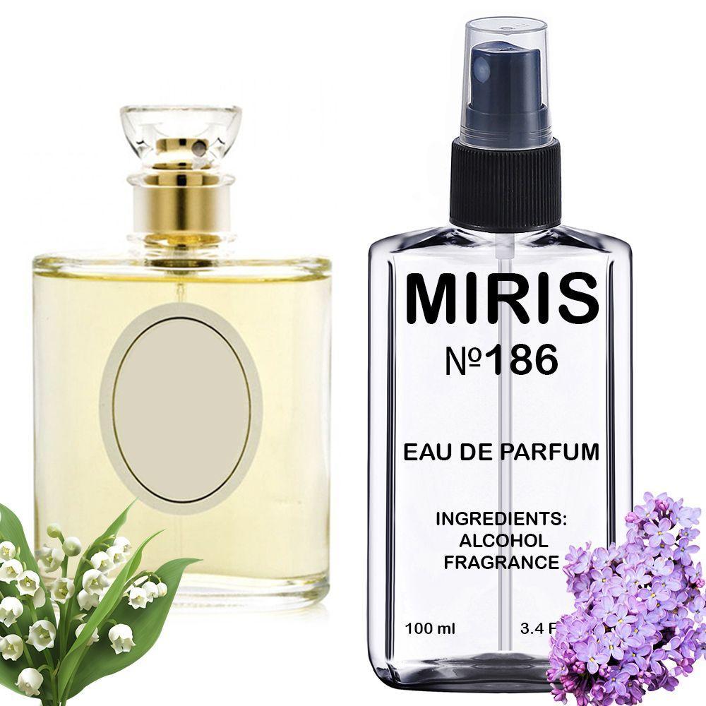 Духи MIRIS №186 (аромат похож на Christian Dior Diorissimo) Женские 100 ml