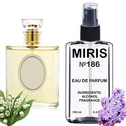 Духи MIRIS №186 (аромат похож на Christian Dior Diorissimo) Женские 100 ml, фото 2