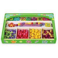 Набор для творчества Viga Toys Ожерелье Цветы (52730)