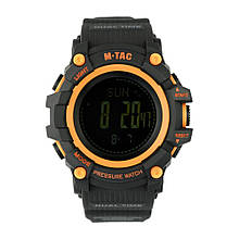 M-Tac часы тактические Adventure Black/Orange
