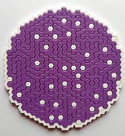 Пазлы - соты. Головоломка ( фиолетовый )