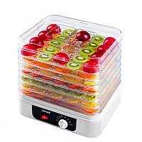 Сушилка для овощей и фруктов концепт конвективная 260 вт на 7 секций белая Concept SO1071
