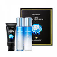 Набор средств с экстрактом медузы JMsolution Active Jellyfish Vital Skin Care Set Prime Set-Prime