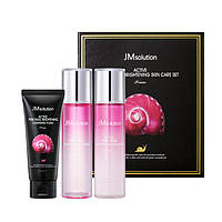 Набор по уходу за лицом с муцином улитки JMsolution Active Pink Snail Brightening Skin Care Set Prime