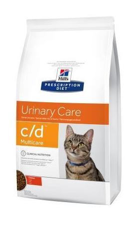 Корм Хіллс PD Feline C/D з кур, для зап-ня утворюванню струвітів, оксалатів, лікування циститів, 0,4 кг